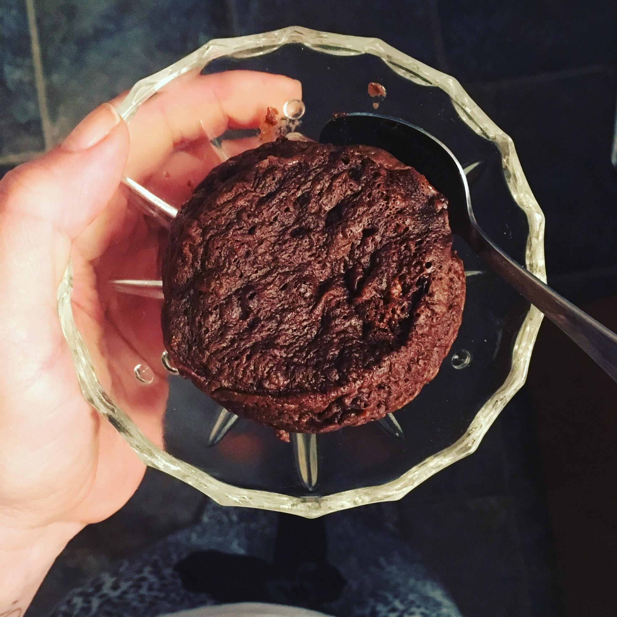 Mug cake choco reese